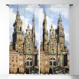 Catedral de Santiago de Compostela/Santiago de Compostela Cathedral Blackout Curtain