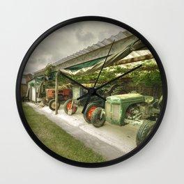 Devon Tractors Wall Clock