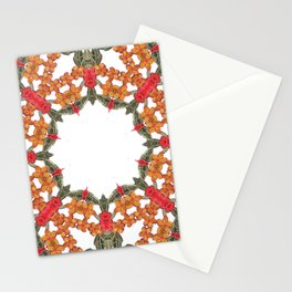 Embroidered Pattern Stationery Cards