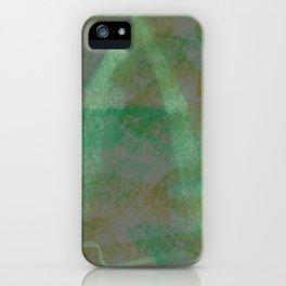 Designer Collection Grey 18 iPhone Case