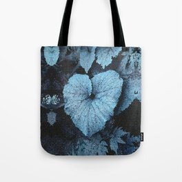 Blue Blue Heart Tote Bag