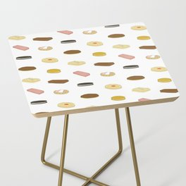 biscui - biscuit pattern Side Table