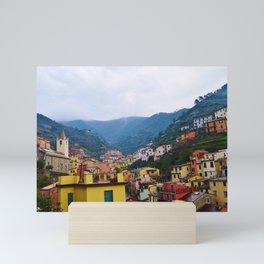 Beautiful Riomaggiore, Italy Mini Art Print