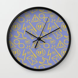 Potter Pattern Wall Clock
