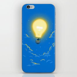Let the light lead the way iPhone Skin