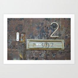302 Art Print
