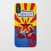 arizona iPhone & iPod Cases featuring Arizona by Anfelmo