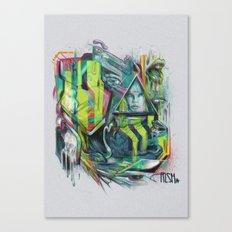 Slobbering Canvas Print