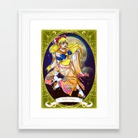 sailor venus Framed Art Prints featuring Sailor venus by Sophira-lou