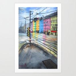 Vienna Cityscape Art Print