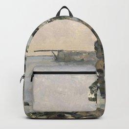 Paul Cézanne - L'Estaque, effet du soir Backpack