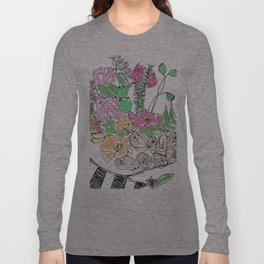 Camelia Long Sleeve T-shirt
