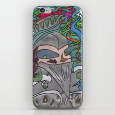 Rutherford The Brave iPhone & iPod Skin