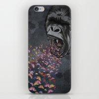 butterflies iPhone & iPod Skins featuring Butterflies by Paula Belle Flores