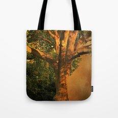 Tree Poem Tote Bag