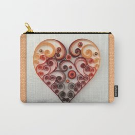 Quilling Heart 1 Carry-All Pouch