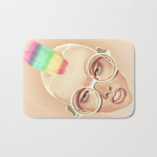 Rainbow Bath Mat