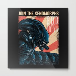 Join the Xenomorphs Metal Print