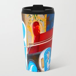 Fast-paced sledging Travel Mug