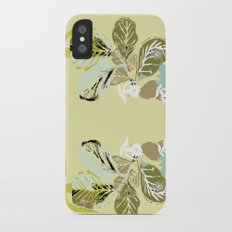 pine apple iPhone X Slim Case