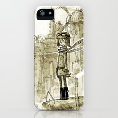 Old new city iPhone (5, 5s) Slim Case