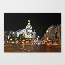 Madrid. Canvas Print
