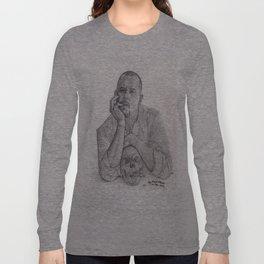 Alexander McQueen Savage Beauty Drawing Long Sleeve T-shirt