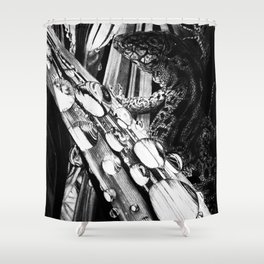 The Lizard Shower Curtain