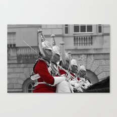 Household Cavalry Changing Of The Guard Canvas Print