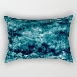 landscape blue Rectangular Pillow