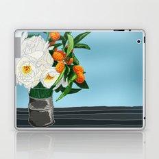 White Roses & Tangerines Laptop & iPad Skin