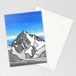 K2 MOUNTAIN LANDSCAPE Stationery Cards