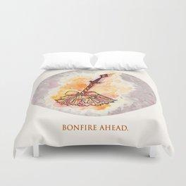 Bonfire Ahead Duvet Cover