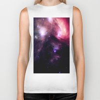 nebula Biker Tanks featuring nebUlA by 2sweet4words Designs