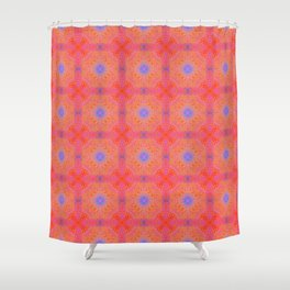 Tryptile 45 (Repeating 2) Shower Curtain