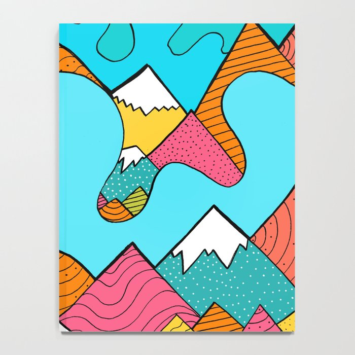 Splash of the mountains  Notebook