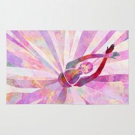 Sleeping Ballerina Floral Rug