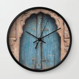 Doors Of India 2 Wall Clock