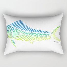 Tribal Mahi Mahi Rectangular Pillow