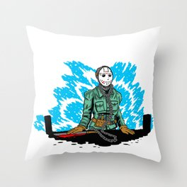 The Little Murderer Throw Pillow