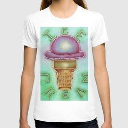 Neon Ice Cream T-shirt