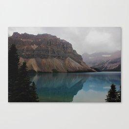 Bow Lake - Canadian Rockies - Banff Canvas Print