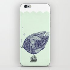 Floating Fish iPhone Skin