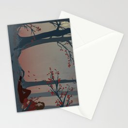 Happy Autumn Nap Stationery Cards