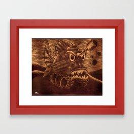 Fish Tank. Framed Art Print