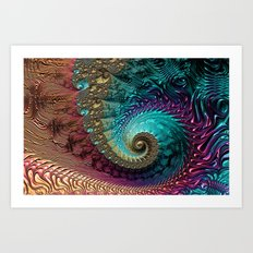 Luxuriate Art Print