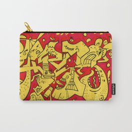 Graffiti Character Mashup Carry-All Pouch