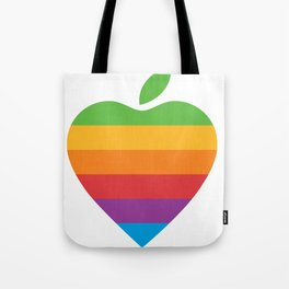 Apple Love Tote Bag