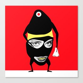 Thief of face Canvas Print