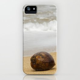 Coconut on the Beach iPhone Case